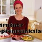 Kärntner/Gurktaler Topfenreinkalan Rezept (Quark Puffer)