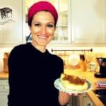 Käsekuchen Rezept mit Birnencrumble nach Omas Art