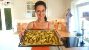 Lana präsentiert ihre Potato Wedges